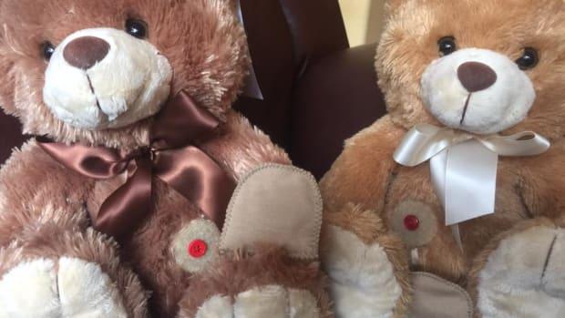 Ollie Ostomy Bear