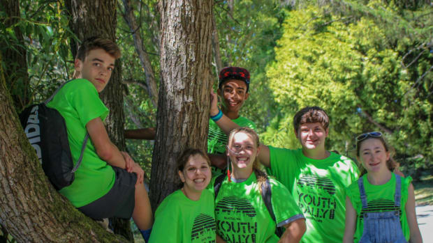 Youth Rally campers