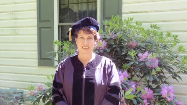 Jeanne Dagna graduation