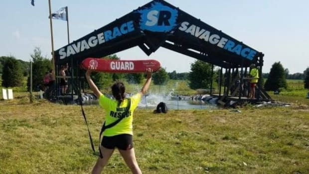 Mollie Tinnin at Savage Race Chicago 2019