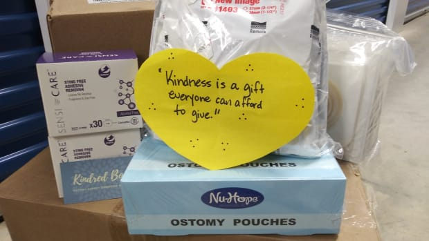 Kindred Box ostomy supply donations