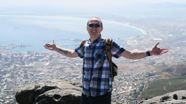 Eric Polsinelli of VeganOstomy in Capetown