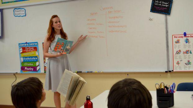 Stephanie Crane is a teacher in Florida