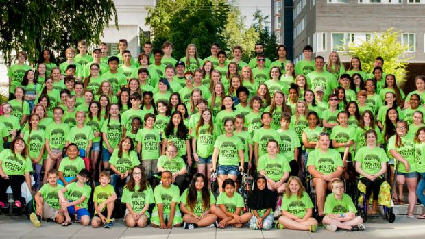 Youth Rally group photo