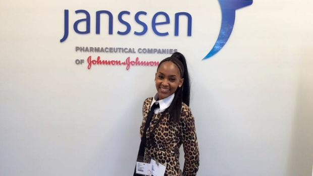 Gaylyn at Janssen Research Labs