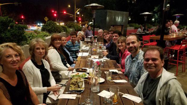 dinner with ostomates ostomy 2017
