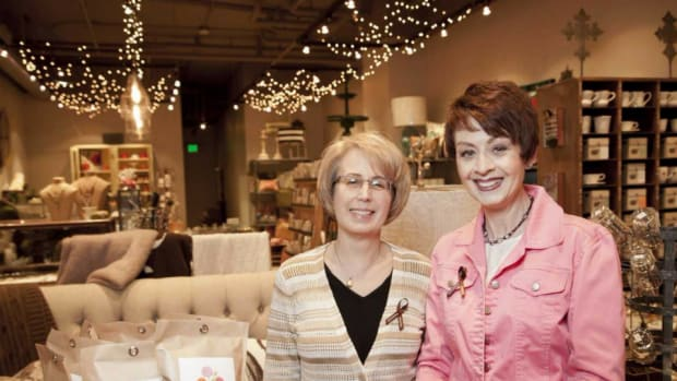Lois Fink and Barb Wodzin