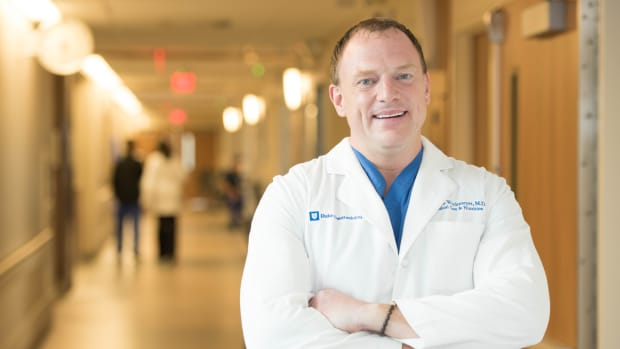 Paul Wischmeyer M.D., Professor of Anesthesiology and Surgery