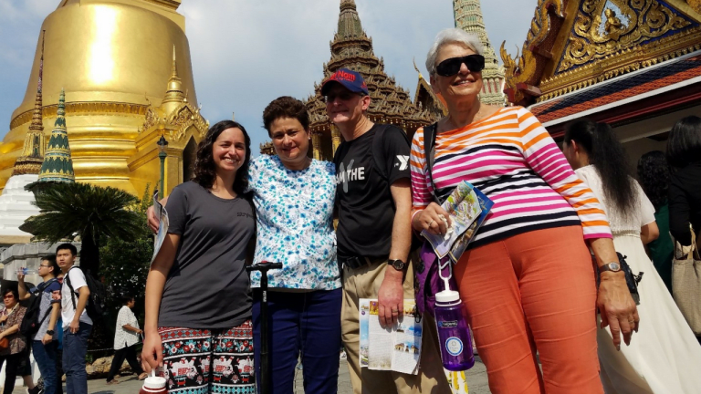 THIS HAPPENED: I took a trip to Asia for three weeks with my medical equipment alongside