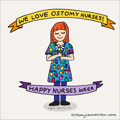 Ostomy Nurse Week