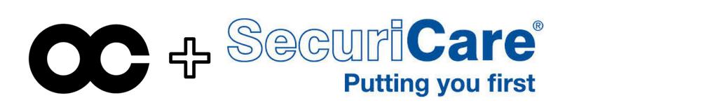 SecuriCare® lower sponsor badge