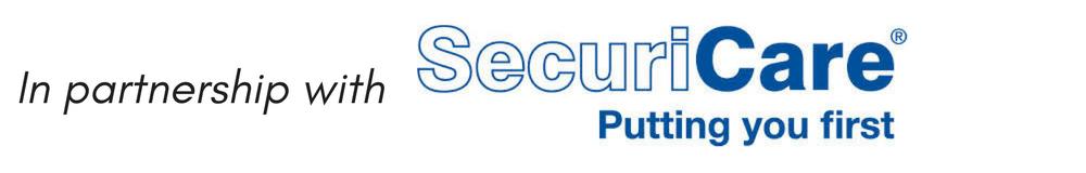 SecuriCare® top SPONSOR BADGE