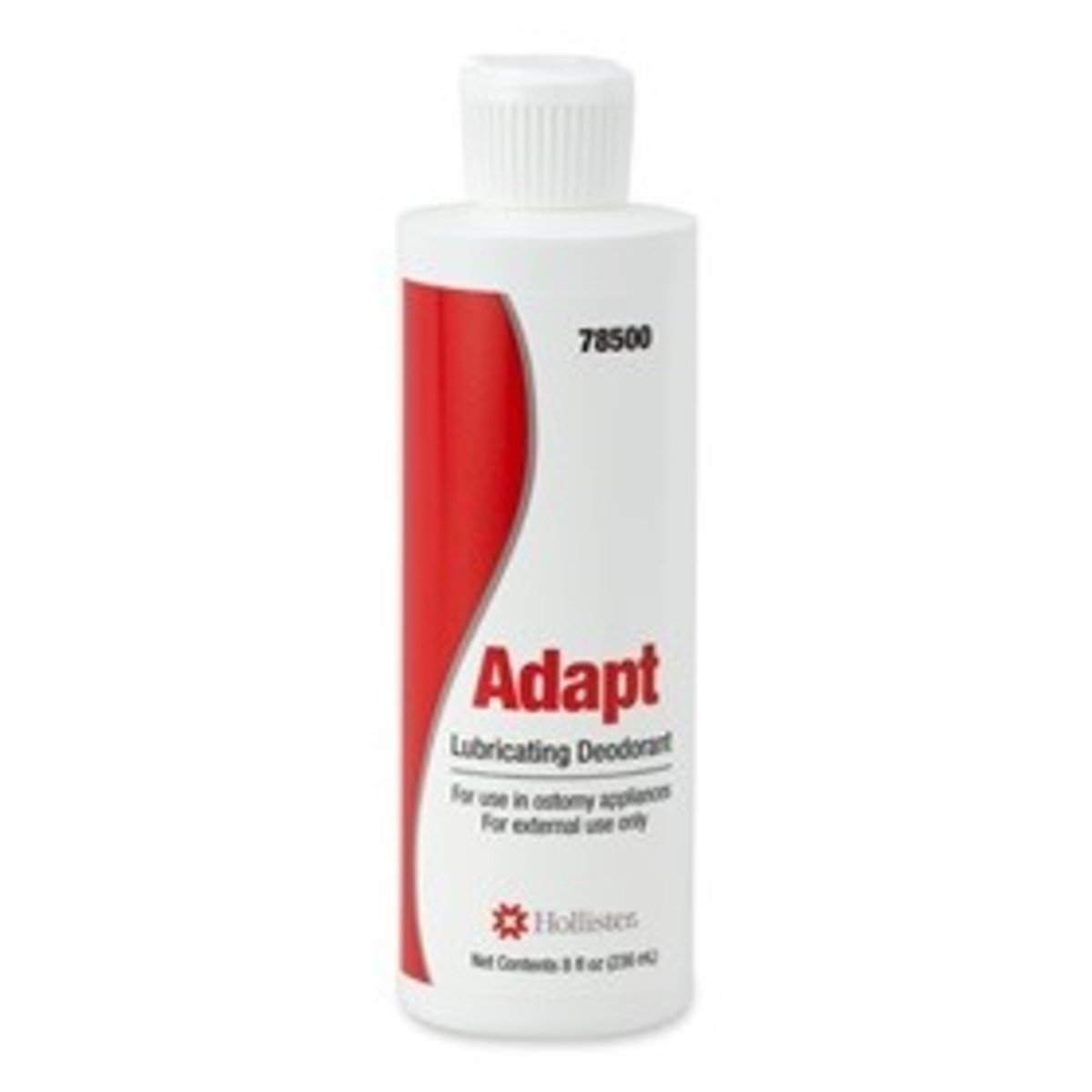 Adapt™ lubricating deodorant is used inside the pouch to neutralizer odor.