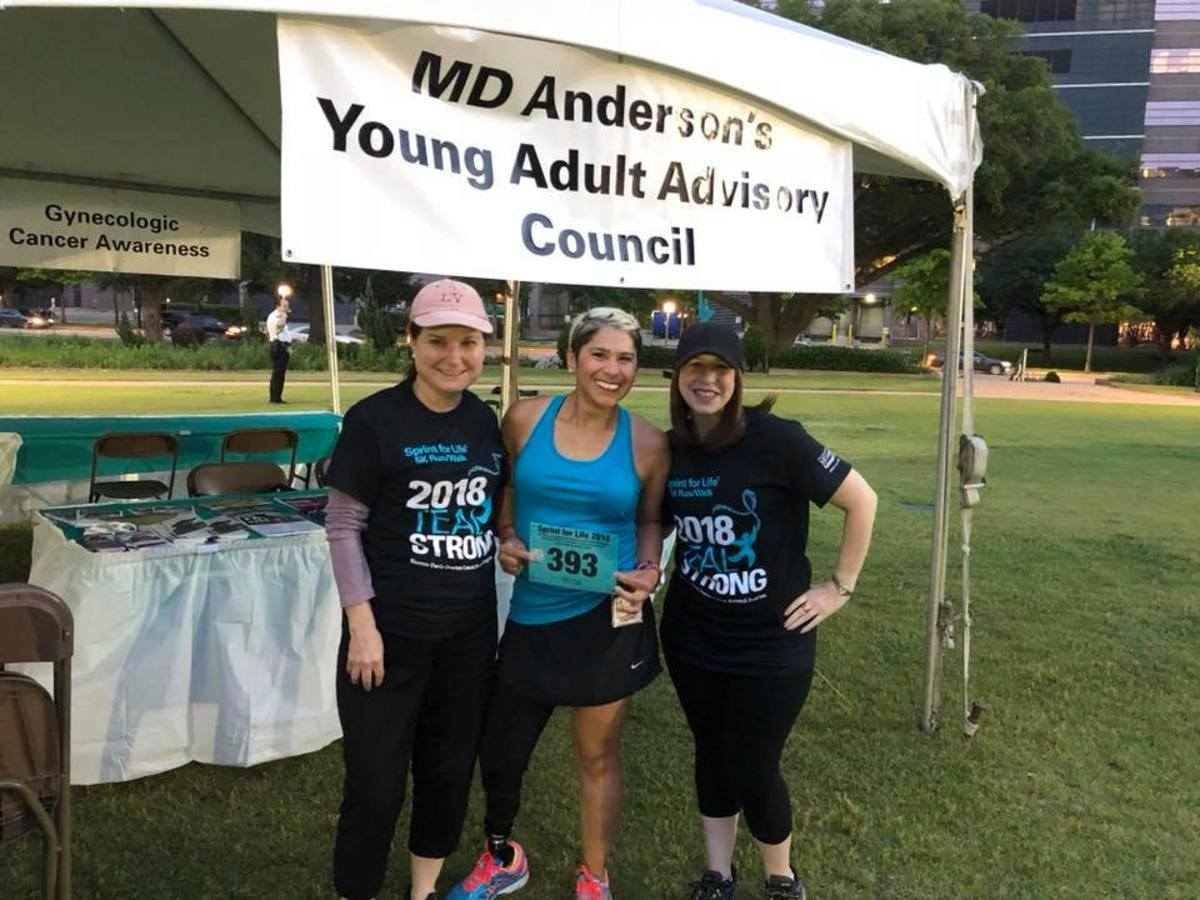 MD Anderson Sprint for Life Ovarian Cancer Awareness