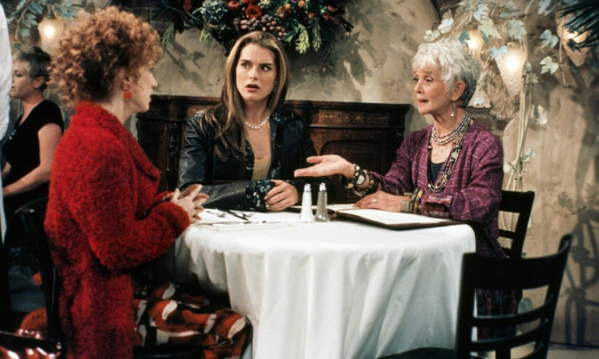 In the late '90s, Barbara Barrie starred in the sitcom, Suddenly Susan, with Brooke Shields.