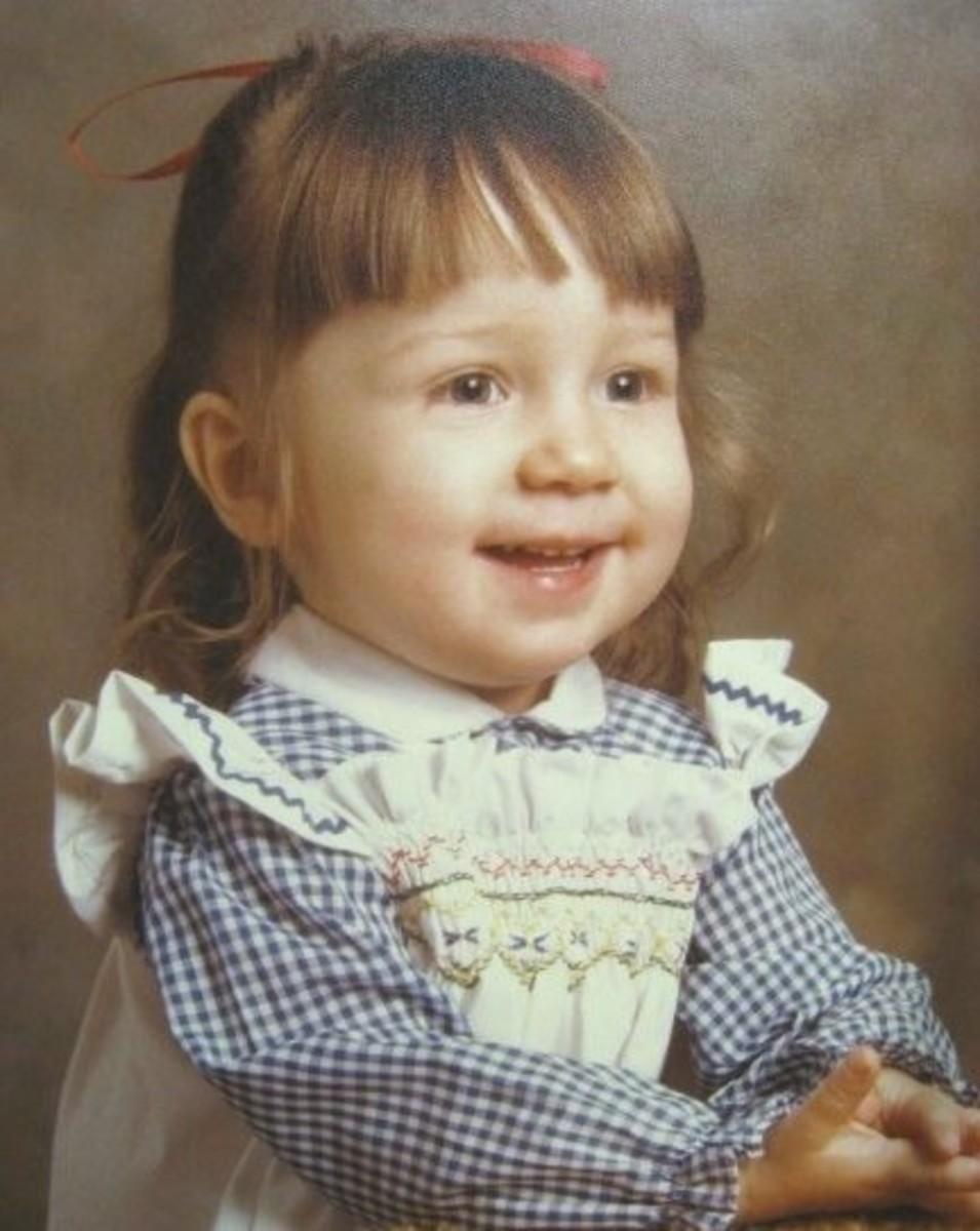 me, age 2