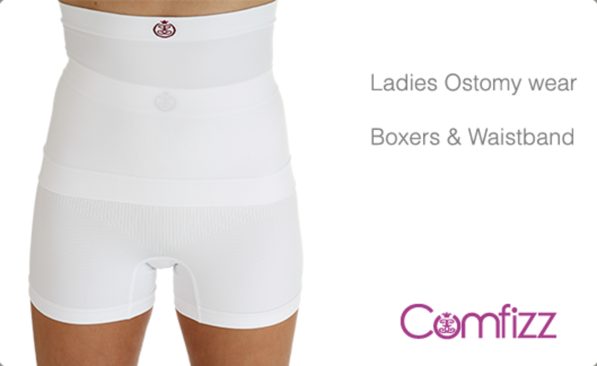 Comfizz Ladies High Waist Boxer and Waistband