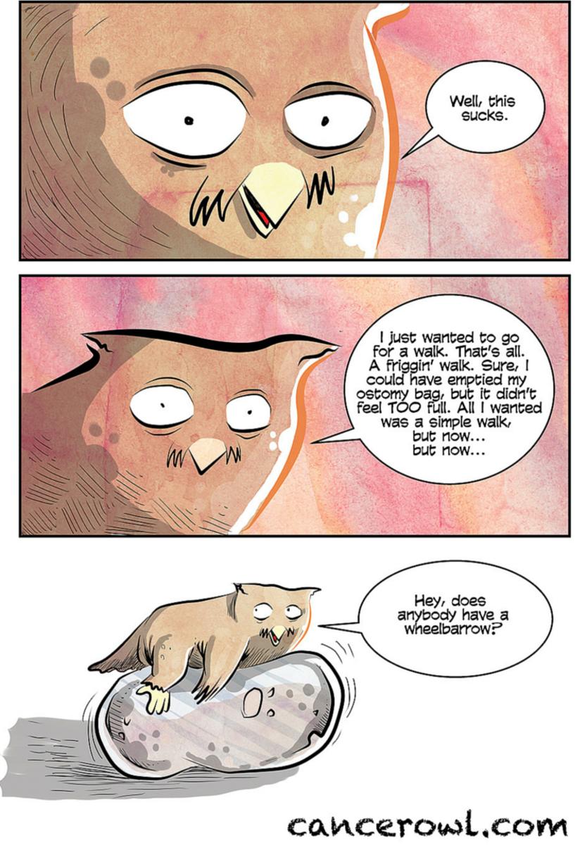 Ostomy Comic Udderly Crappy