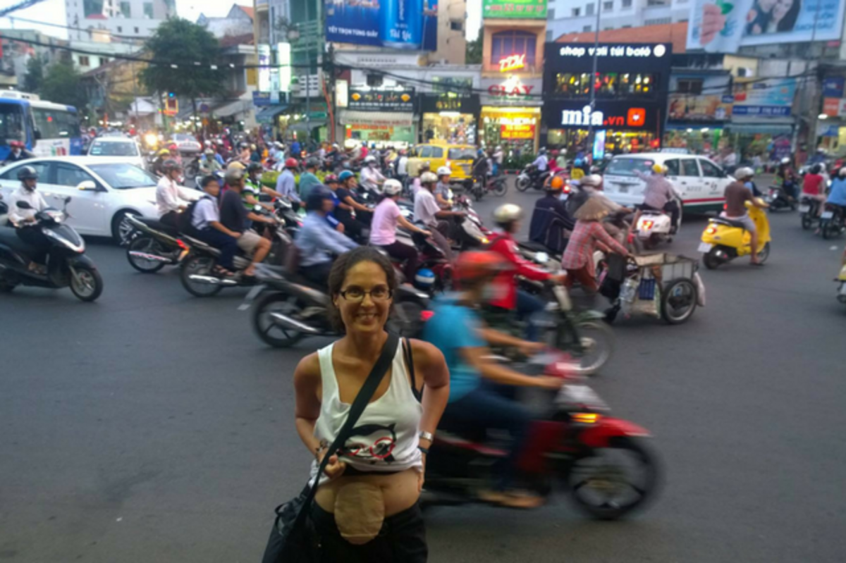 Ho Chi Minh or HCMC in Vietnam