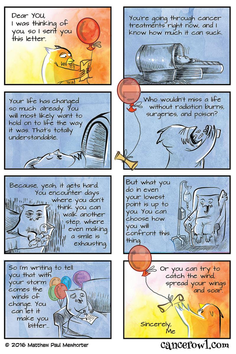 Cancer Owl comic