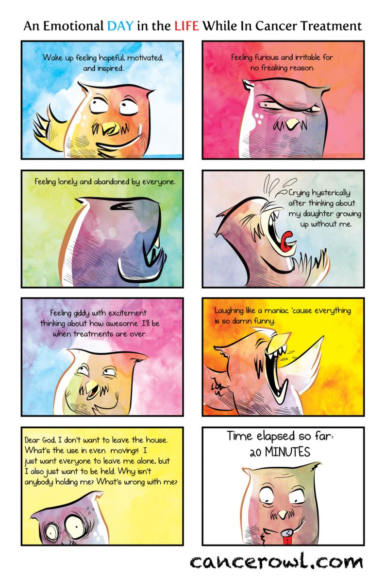 Cancer Patients comic