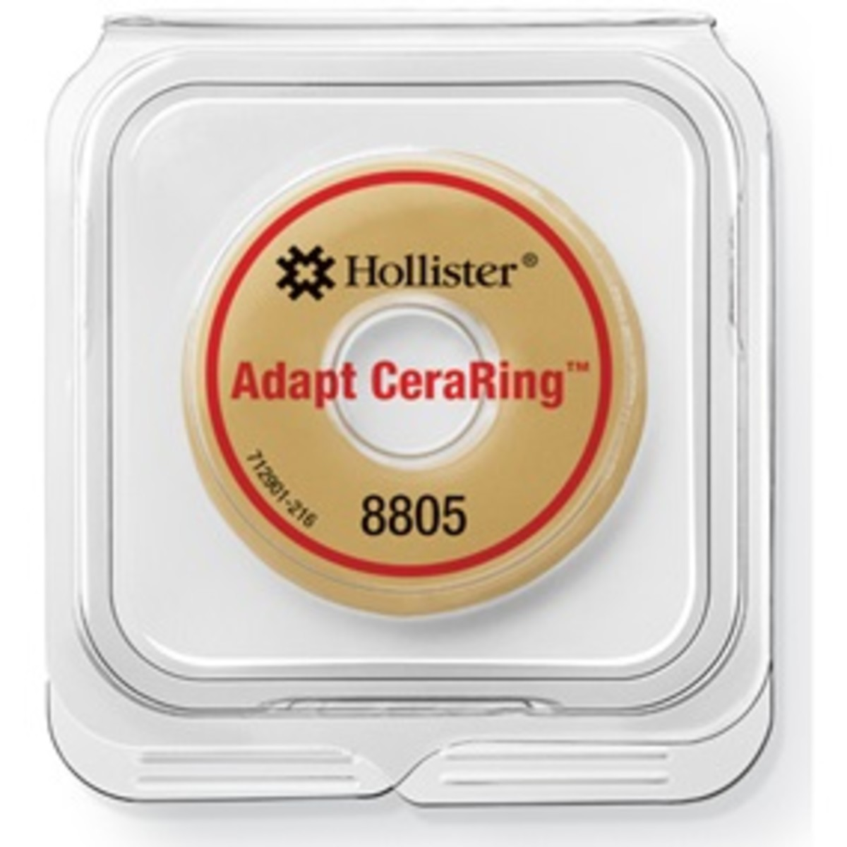 Use Adapt CeraRing™ barrier rings with Hollister one-piece and two-piece pouching systems.