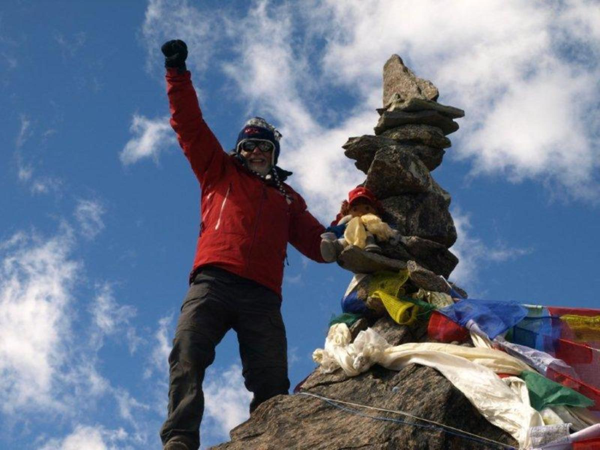 Nepal, 2012: There's a feeling of elation reaching a summit.