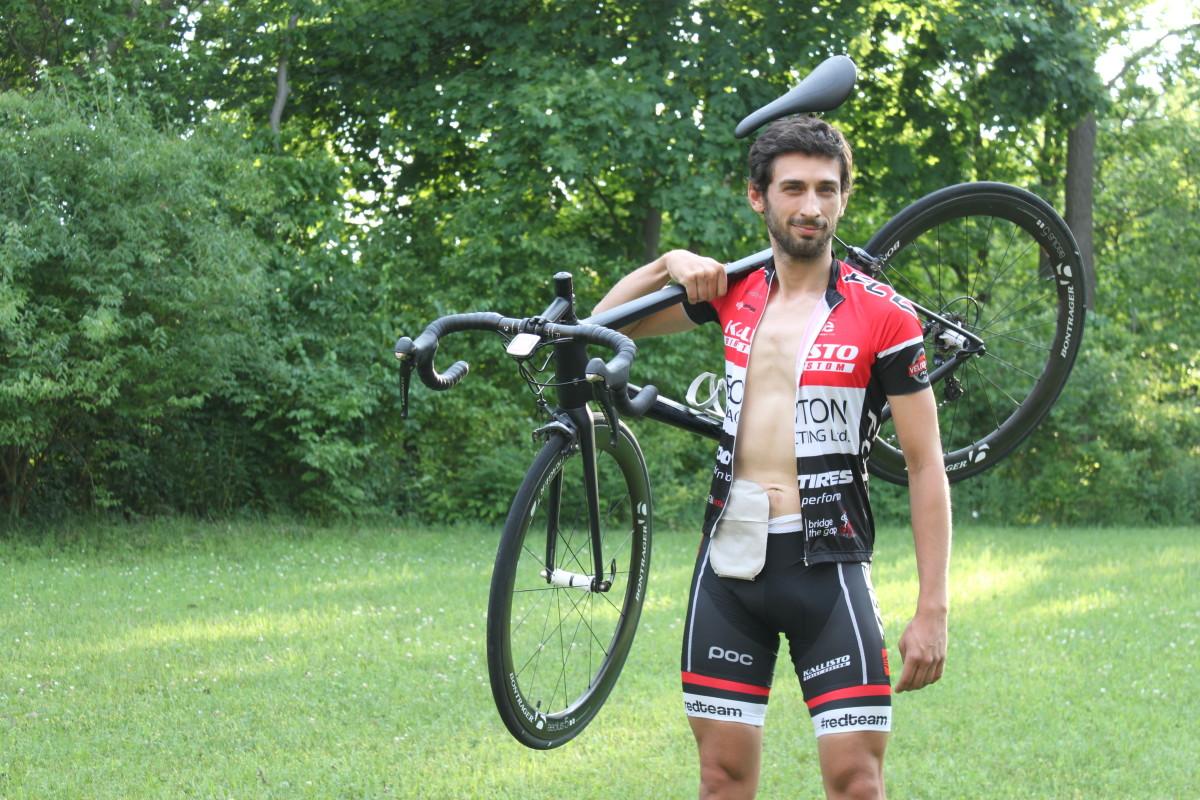 Matt Newman cyclist Canada