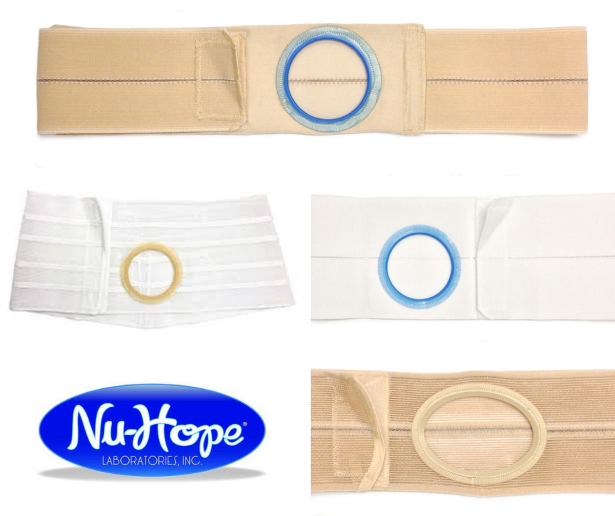 NuHope ostomy and hernia support belts